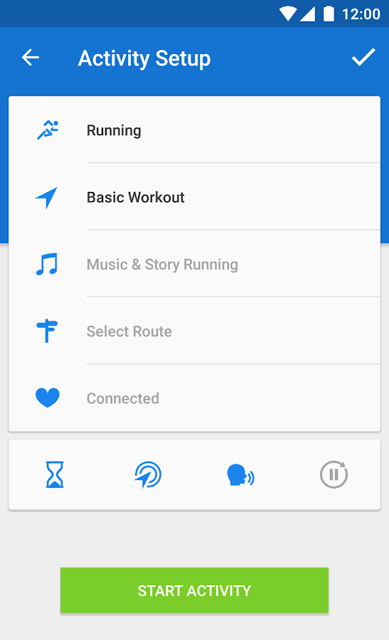 Runtastic Running PRO- screenshot