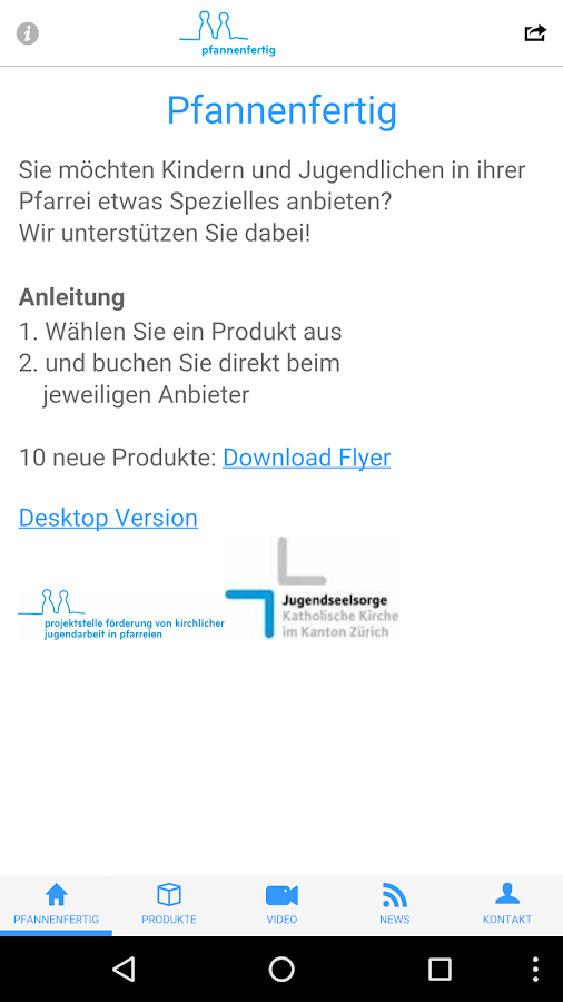 Pfannenfertig- screenshot
