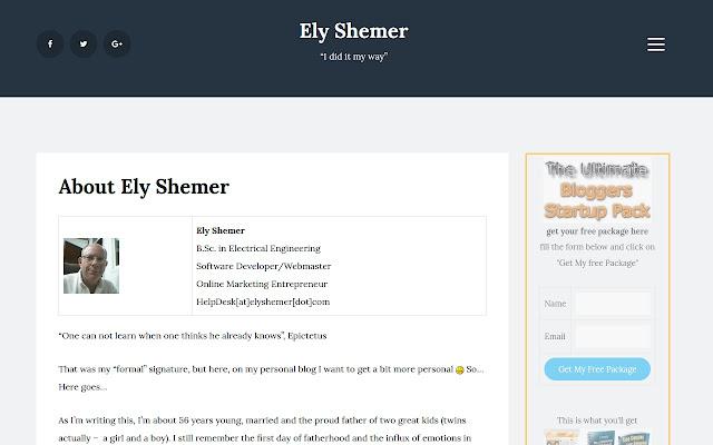 Elys IM Blog