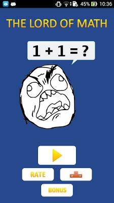 The Lord Of Math - screenshot