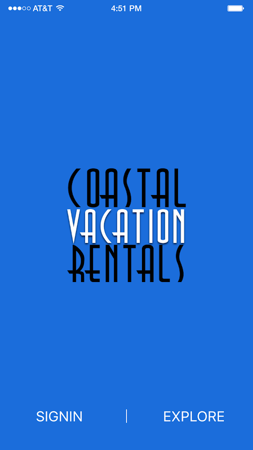 Coastal Vacation Rentals- screenshot
