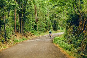 Photo: Over the hill and through the woods. The Journey continues.