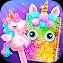 Carnival Unicorn School Supplies - Trendy Carnival icon
