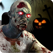 Real zombie hunter – FPS shooting in Halloween MOD APK 1.9 (Unlimited Money)