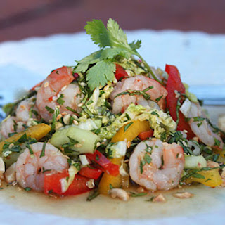 Shrimp Salad Thai Style
