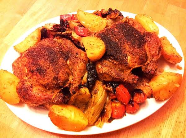 Herb Roasted Cornish Game Hens/roasted Root Vegt. Recipe