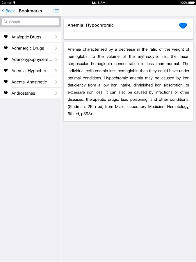 Medical Dictionary- screenshot