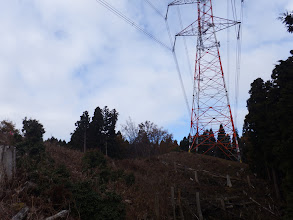 上部の鉄塔に到着