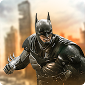 Superhero Flying Bat City Rescue Mission Survival