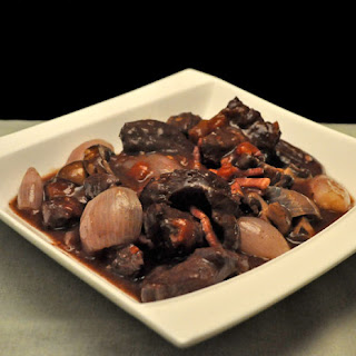 Venison Braised in Red Wine