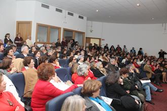 Photo: Auditório cheio na Escola Técnica e Empresarial do Oeste