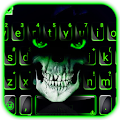 Green Horror Devil Keyboard Theme APK