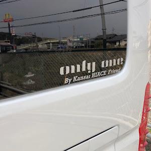 ハイエースバン TRH200V SUPER GL 2018年式のカスタム事例画像 keiji@黒バンパー愛好会さんの2019年03月27日19:47の投稿