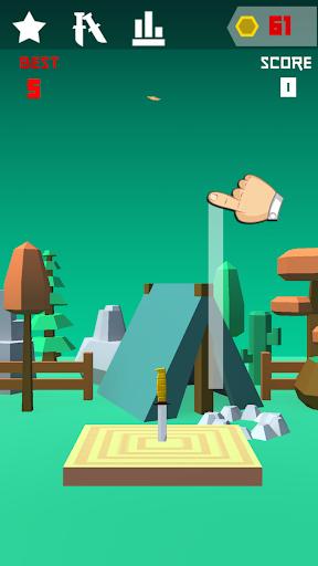 Knife 3D Game Challenge 1.1 screenshots 1