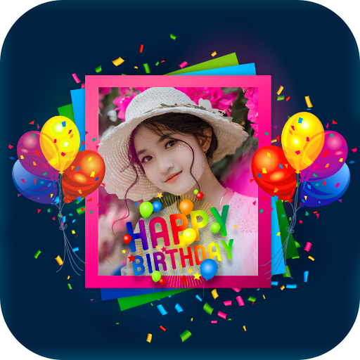 Birthday Photo Frame- Photo On Cake APK Cracked Download