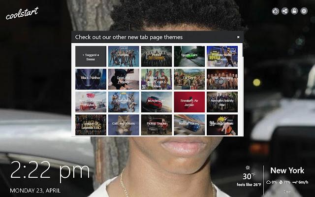 Tay-K HD Wallpapers Hip Hop New Tab Theme