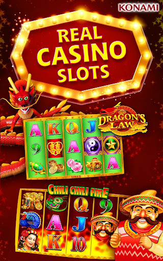 KONAMI Slots Casino Games