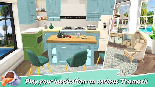 Home Paint: Color by Number & My Dream Home Design android2mod screenshots 3