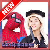 Elsa Spiderman ✅