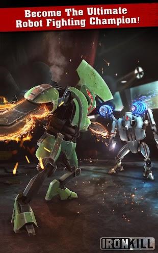 Iron Kill Robot Fighting- screenshot thumbnail