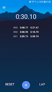 Alarm Clock: Stopwatch & Timer Screenshot