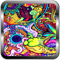 Crazy Cool Trippy Wallpapers icon
