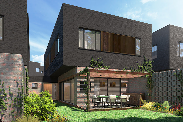Hyde Park House render