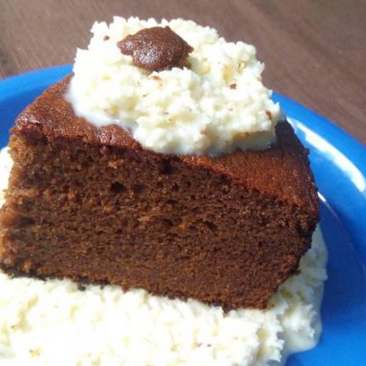 Dates Chocolate Cake