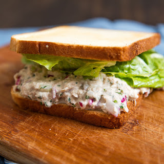 Classic Mayo-Dressed Tuna Salad Sandwiches