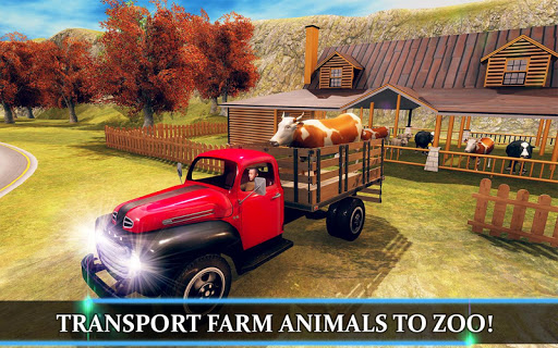 Wild Animal Transporter Truck Simulator Games 2018 screenshots 2