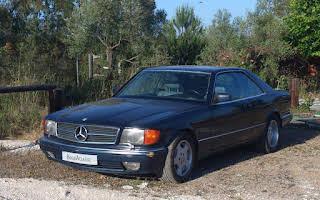 Mercedes-Benz W126 560 Sec Rent Andalucía