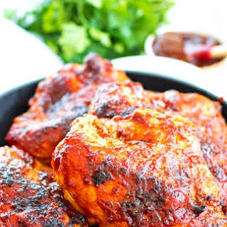 Oven BBQ Chicken Breasts.
