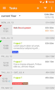 Timesheet - Time Tracker- screenshot thumbnail