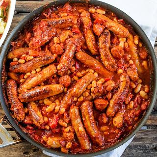 Big Batch Sausage and Bean One Pot.