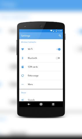 android IcyPeak CM12.1 Theme Screenshot 4