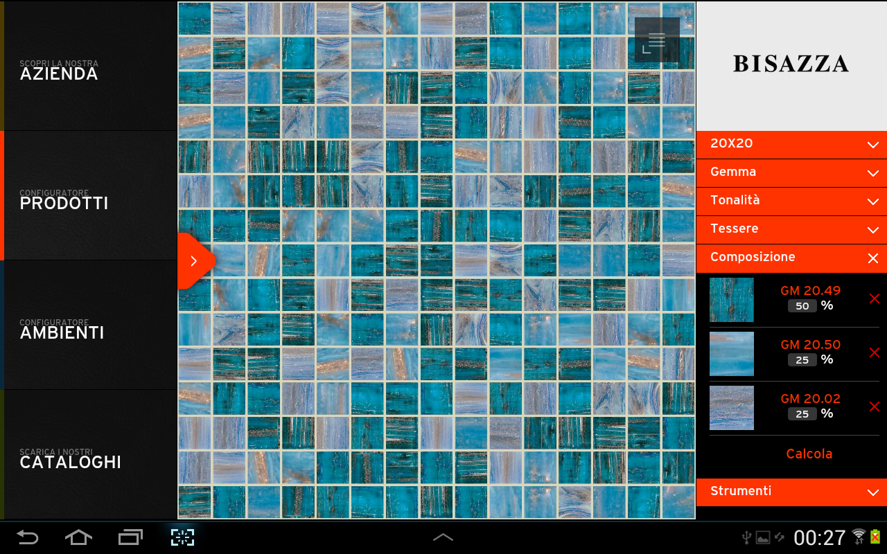 Bisazza- screenshot