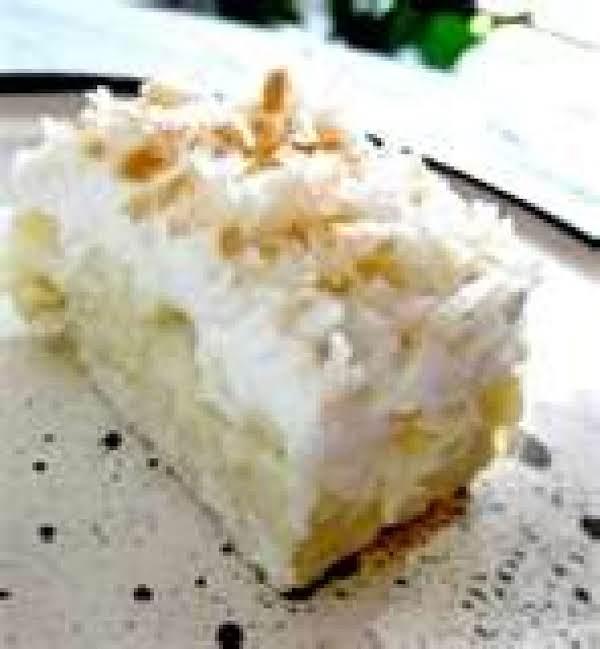 Coconut And Banana Whipped Cream Dessert By Freda Recipe
