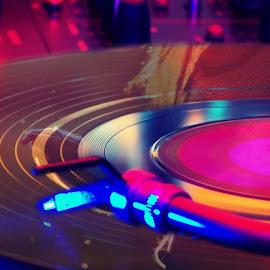 Recording by Syabrina Voq - Digital Art Things ( music, lights, getlit, recording, neon )