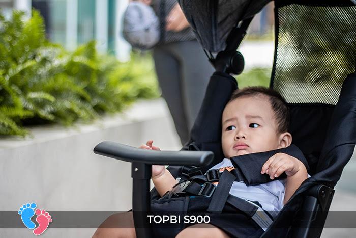 Xe đẩy cao cấp Topbi S900 9