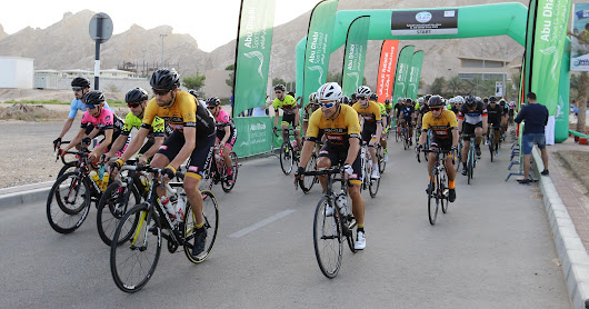 Al Ain Water Cycling Race 13 April.2018