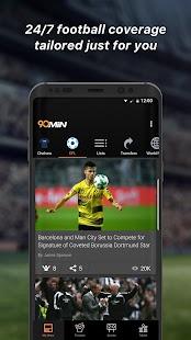 90min - Live Soccer News App - náhled