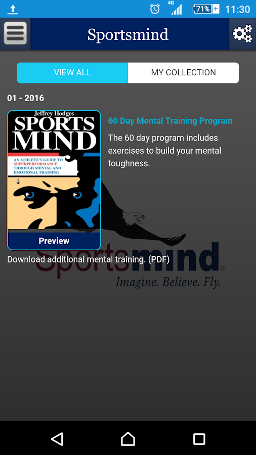Sportsmind- screenshot