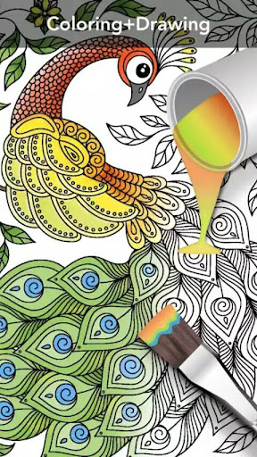 Coloring Book For Adults - Mandala Coloring for PC