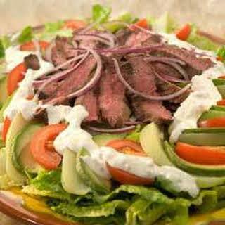 Chayote & Skirt Steak Salad.