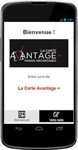 Cashback La Carte Avantage- screenshot thumbnail