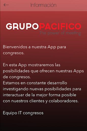 Congresos GP App