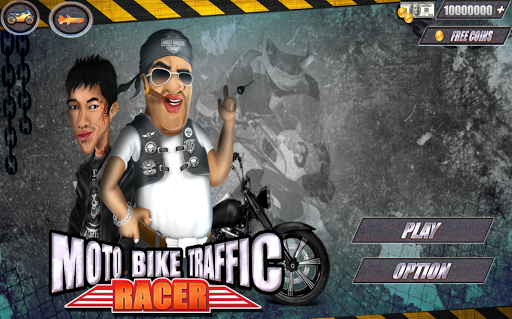 Traffic Moto Death Racing Game