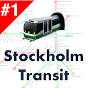 Stockholm Transport: SL routes, offline time & map icon