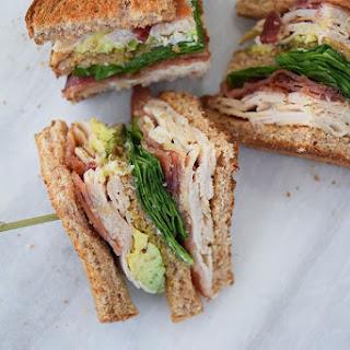 Turkey Bacon Avocado Club Recipe
