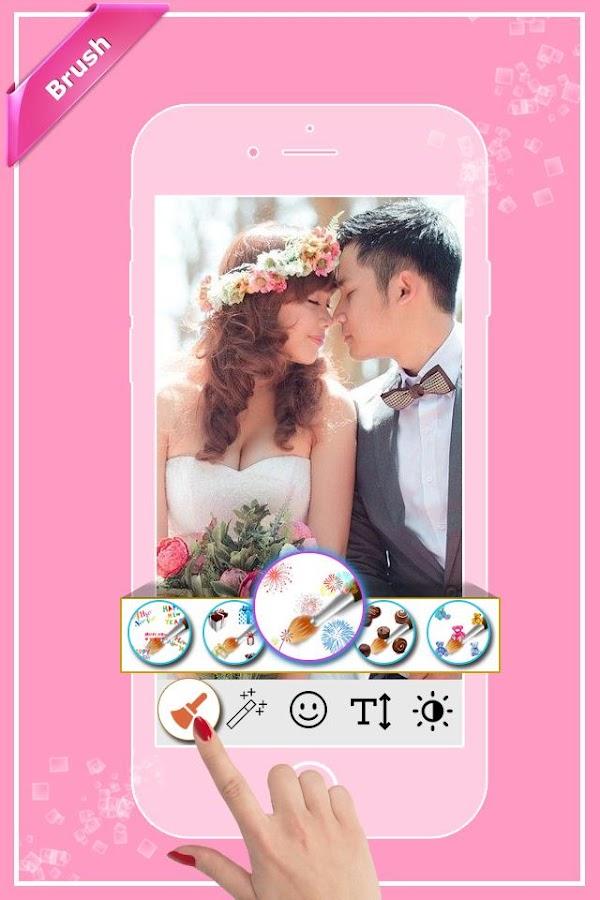 happy anniversary photo frames screenshot